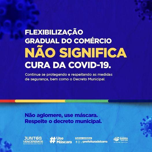 SECOM faz campanha: Flexibilização do comércio não significa fim da pandemia