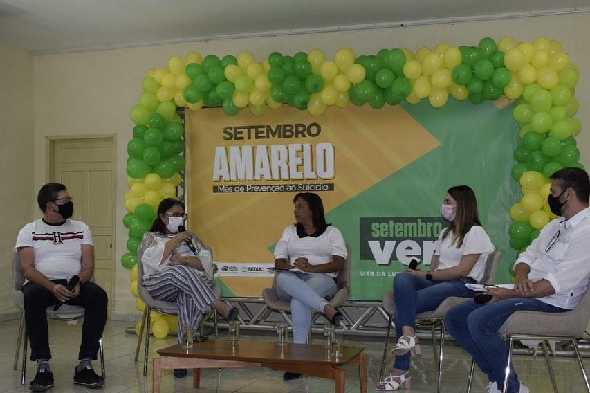 Governo municipal realiza live sobre o Setembro amarelo e verde