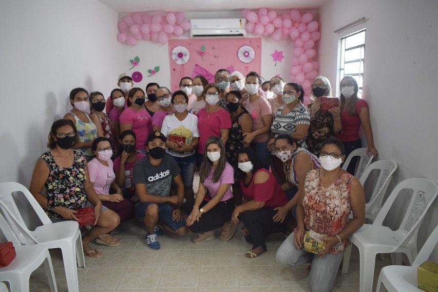 A UBS Tancredo Neves também está realizando campanha em alusão ao Outubro Rosa