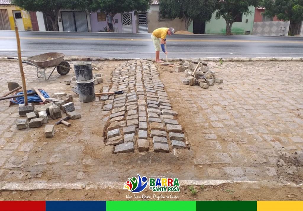 Secretaria de Infraestrutura continua o projeto Tapa Buraco