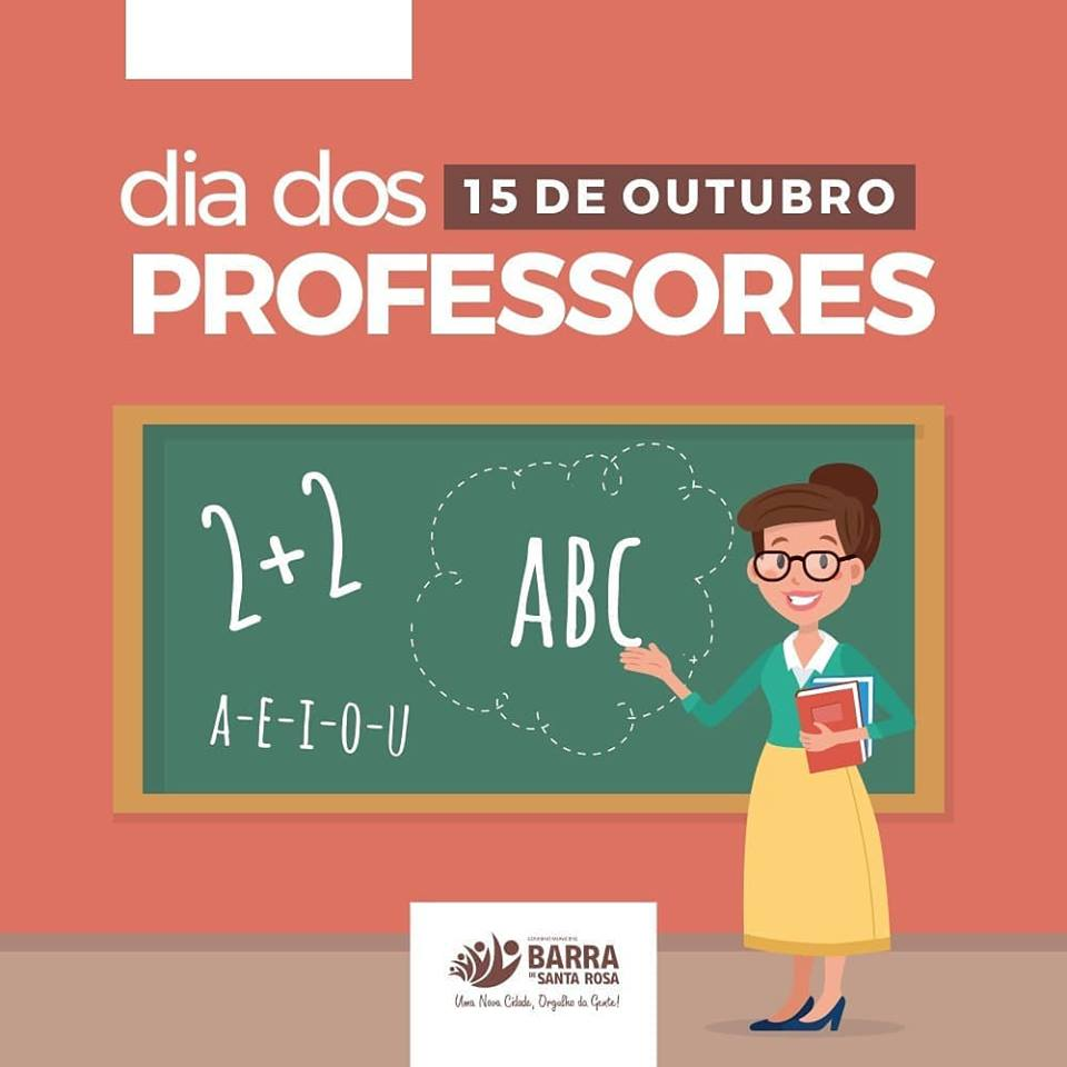 15 de outubro, Dia dos Professores