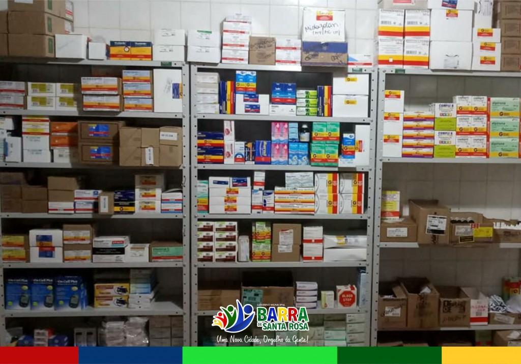 Farmácia Básica do município é reabastecida