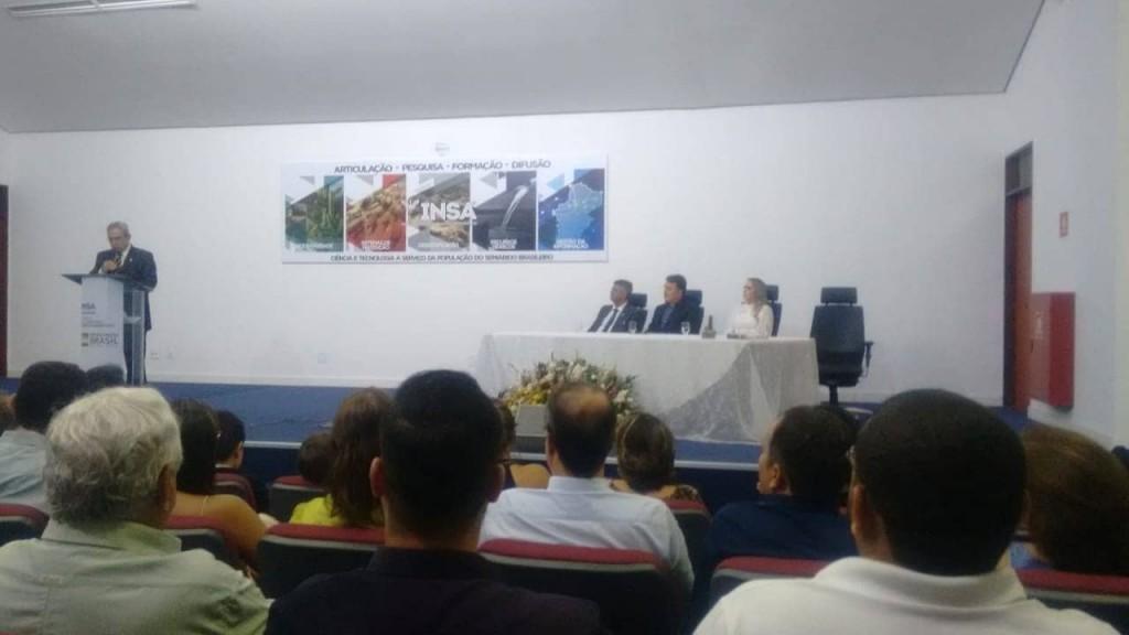Secretário de Agricultura Alex Condá participa da Solenidade de Posse da Diretora do INSA